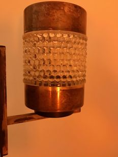 Antique charming wall lamp