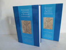 Wouter J. Hanegraaff - Dictionary of Gnosis & Western Esotericism - 2 volumes - 2005