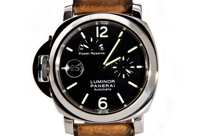 Officine Panerai - Luminor Marina Destro - PAM 123 G power reserve - Heren - 2000-2010