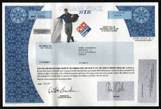 USA - Domino's Pizza - 2007 (America's 2nd Largest Pizza Chain)