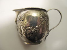 Small jug made of silver, Simon Rosenau, Germany, Bad Kissingen, 1862-1932