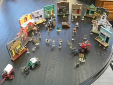 Morris - Mini Village Plastoy en plomb - Lucky Luke - (2008)