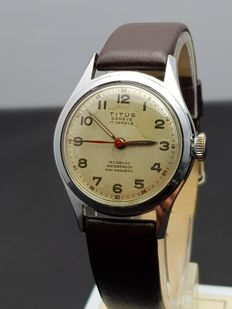 Titus Genève - wristwatch - Swiss made 1950s