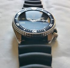 "Seiko 4205-0150 ""Blue"" Vintage Diver from 06-1985"