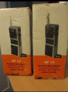 Dietzenbach hfl13 walkie-talkies 1977 radios