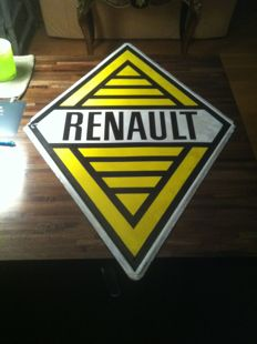 Emaille bord logo Renault