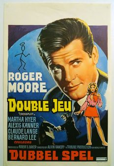 Anonymous - Cross plot / Double Jeu (Roger Moore) - 1971