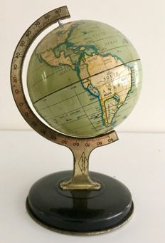 A tin 1930 J. Chein & Co. globe in a very good condition