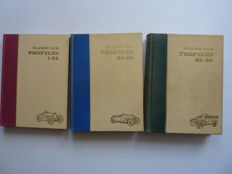Classic Car Profiles - 3 volumes 1-24 , 25-60  and 61-96 -  1966 to 1967.