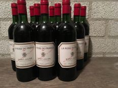1981 Chateau La Rose de France, Saint-Julien, France - 12 bottles