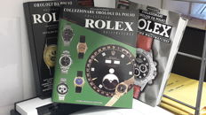 Watchmaking; Lot of 3 books about collecting Rolex watches - 1996/2001