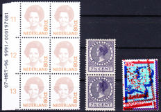 The Netherlands - Selection variations - NVPH 179, 1181 and 1489x
