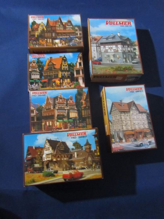 Vollmer H0 - 43677/43697/43816/43840/3841/43842 - Scenery