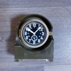 Bauerle military Radio station clock.