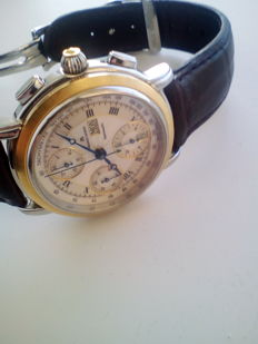 Maurice Lacroix - Masterpiece Croneo automatic Chronograph MP6318  - 18kt gold bezel  - Heren - 2000-2010