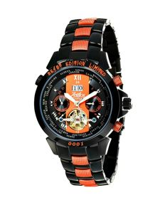 Zeitlos Switzerland - Exzellent Beast Carbon Orange Limited GMT Automat - ZL-EB-10 - Ανδρικά - 2011-σήμερα