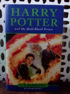 Misprint; J.K. Rowling - Harry Potter and the Half Blood Prince - 2005