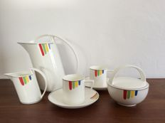 Villeroy & Boch, Gallo Design, Sunset coffee set, limited edition