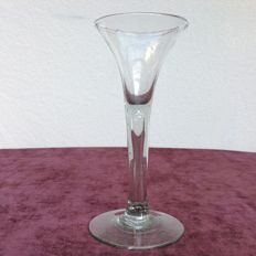 Wine glass, England or the Netherlands, 18th century