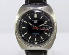 Seiko 5 Sports Automatic Ref 6119-6029 Men's Wrist Watch - circa 1960s
