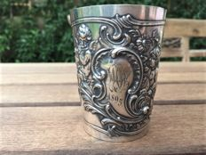 Richly decorated German beaker