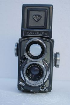 Rolleiflex 4x4 Baby grey serial no. 2012012