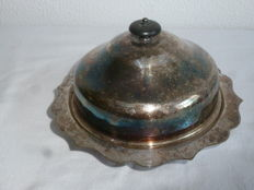 Antique butter dish with inner container