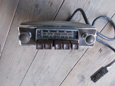 Becker Europe radio, used in Mercedes cars during the 1950s