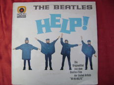 """Help"" by Te Beatles : rare German press -HORZU 1966 record"