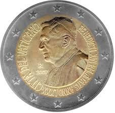 Vatican - 2 euro 2007 '80th birthday Benedict XVI'