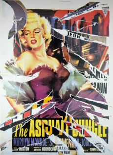 Mimmo Rotella - The Asphalt Jungle