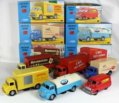 Corgi Classics-Archive Corgi - Scale 1/43-1/50 - Lot with 6 models, all Limited edition boxed