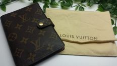 Louis Vuitton Monograma Agenda PM Notebook.
