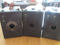 Lot of 3 Kodak cameras