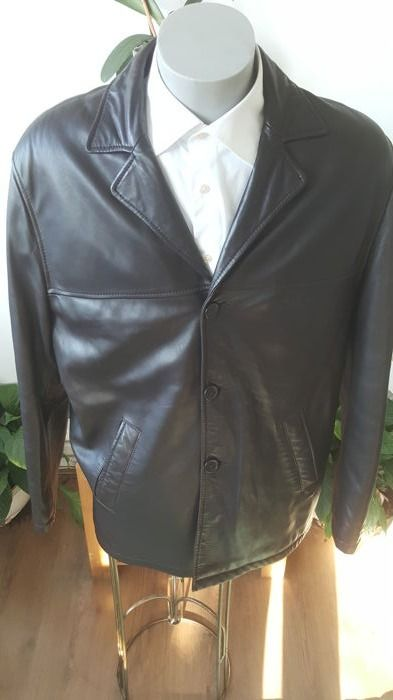 Arma - Men's leather coat