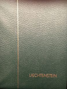 Liechtenstein - Collection in Album, stockbook, 2 binders