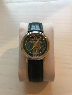 Bulova Accutron Spaceview Gold Filled - Orologio da uomo