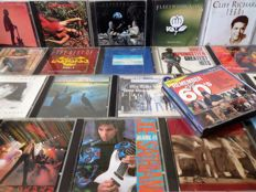 Classic Rock and Pop – Lot of 40 CD's or double CD's with Supertramp, Prodigy, Dire Straits (2x), Judas Priest, U2, Kate Bush, Bruce Springsteen and many others.