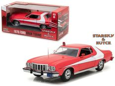 Starsky & Hutch - Greenlight - Scale 1/24 - Ford Gran Torino 1976