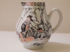 Chinese porcelain milk jug, 18th century
