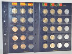 Spain and Portugal - 2 Euro 2005/2017 commemorative coins (24 pieces)