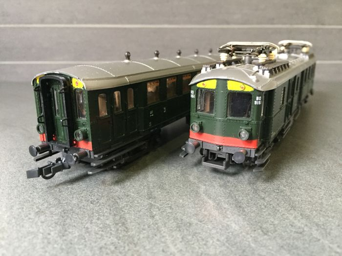 Roco H0 - 04190S - Train set mB4D and Ces of the NS
