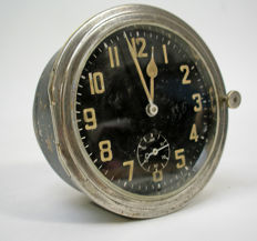 Vintage dashboard clock for classic car, ca. 1930s/1940s