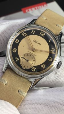 CERTINA - Military watch - Antimagnetic - 15 rubies - 1940