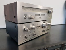 Akai AM-2250 Amplifier plus Akai AT-2200 Woodcase Tuner