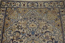 Beautiful fine Persian palace carpet, Nain silk carpet, wool with silk, made in Iran, Nain province, 125 x 185 cm