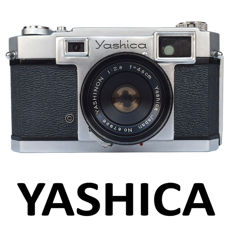 YASHICA 35 rangefinder with a 45 mm f 2.8 lens