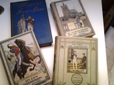 Four old youth books on the Napoleonic era - 1st half of the 20th century