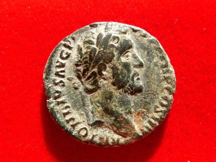 Roman Empire - Antoninus Pius (138 - 161 A.D.) bronze as (11,35 grs. 26 mm), Rome mint, 147 A.D. PIETAS.AVG.