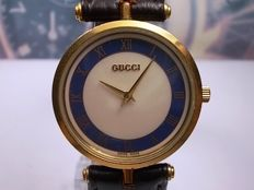 Gucci Quartz model 2000M – Genuine Swiss Made Gold-Plated  - Gents/unisex dress watch c.1980/90s
